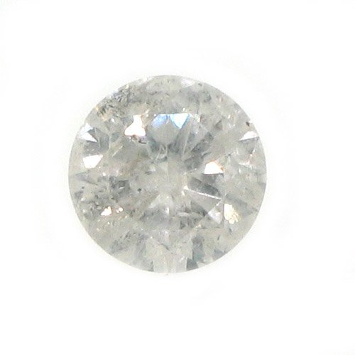 .96 Carat Brilliant Round Cut Diamond Loose Gem Stone SI3 G-H
