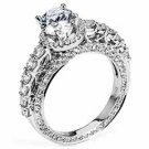 WOMENS DIAMOND ENGAGEMENT HALO RING ROUND CUT 2.36 CARAT 18K WHITE GOLD