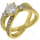 1.79 CARAT WOMENS DIAMOND ENGAGEMENT RING WEDDING BAND BRIDAL SET ROUND CUT