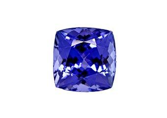 Cushion Cut Shape Deep Blue AAA Tanzanite 6mm 1.00 Carat Loose Gem Stone