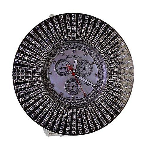 Mens Diamond Bezel Watch Joe Rodeo Chronograph 13.50 Carats