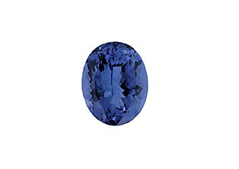 Oval Shape Blue AA Tanzanite 8mmx6mm 1.20 Carats Loose Gem Stone
