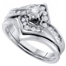 WOMENS DIAMOND PROMISE RING WEDDING BAND BRIDAL SET ROUND CUT .25 CARAT