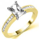 1.3 CARAT WOMENS DIAMOND ENGAGEMENT WEDDING RING RADIANT CUT SHAPE YELLOW GOLD