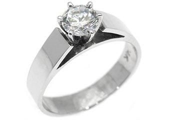 .60 CARAT WOMENS SOLITAIRE BRILLIANT ROUND DIAMOND ENGAGEMENT RING WHITE GOLD