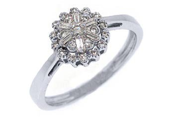 .27 CARAT WOMENS DIAMOND ENGAGEMENT WEDDING RING BRILLIANT ROUND CUT WHITE GOLD