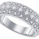 .64 CARAT WOMENS BRILLIANT ROUND CUT DIAMOND RING WEDDING BAND WHITE GOLD