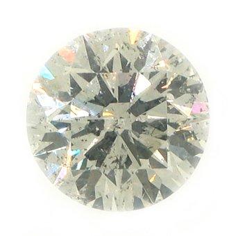 2.32 Carat Brilliant Round Cut Diamond Loose Gem Stone SI3 H-I