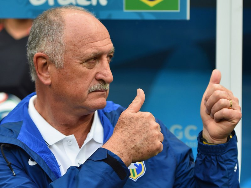 006 -  8 X 6 Photo - Football - FIFA World Cup 2014 - Brazil V Cameroon Luiz Felipe Scolari