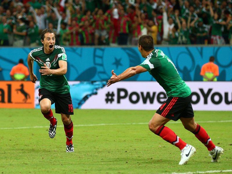 011 -  8 X 6 Photo - Football - FIFA World Cup 2014 - Croatia V Mexico Andres Guardado