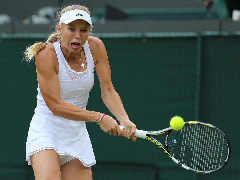 029 - 8 x 6 Photo - Tennis - Wimbledon Championship 2014 - Day 3 - Caroline Wozniacki