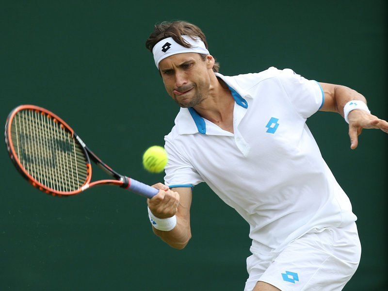 030 - 8 x 6 Photo - Tennis - Wimbledon Championship 2014 - Day 3 - David Ferrer