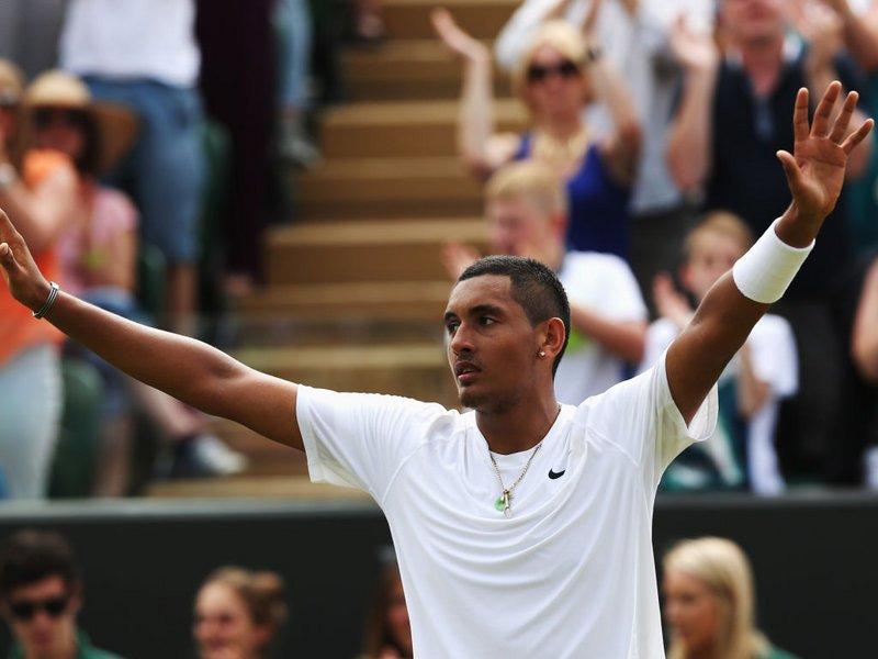 043 -  8 X 6 Photo - Tennis - Wimbledon Championship 2014 - Day 2 - Nick Kyrgios