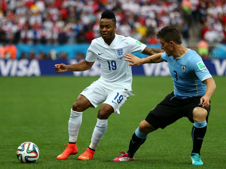 WC 0166 - 8 X 6 Photo - Football - FIFA World Cup 2014 - England V Uruguay - Raheen Sterling