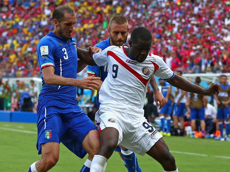 WC 0205 - 8 X 6 Photo - Football - FIFA World Cup 2014 - Italy V Costa Rica - Joel Campbell