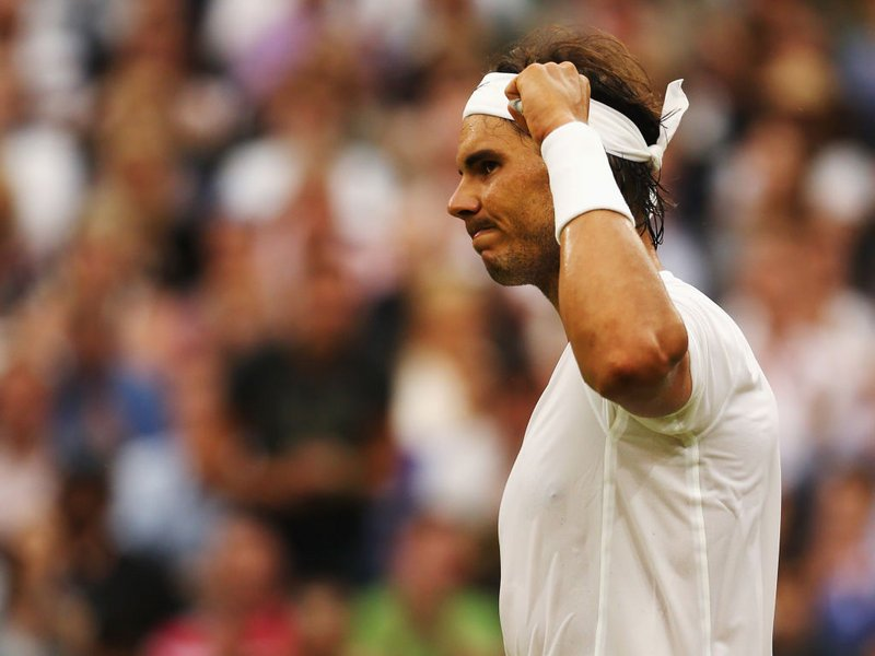 062 - 8 X 6 Photo - Tennis - Wimbledon Championship 2014 - Day 6 - Rafael Nadal
