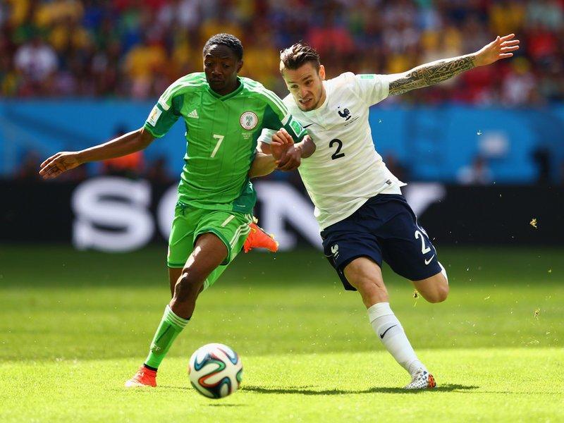 475 - 8 x 6 Photo - Football - FIFA World Cup - France v Nigeria - Ahmed Musa