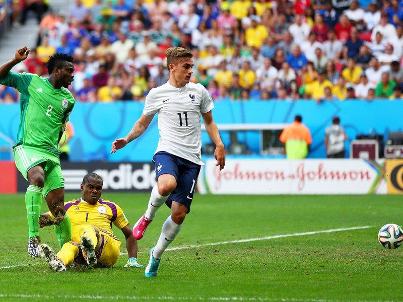479 - 8 x 6 Photo - Football - FIFA World Cup - France v Nigeria - Joseph Yobo Own Goal