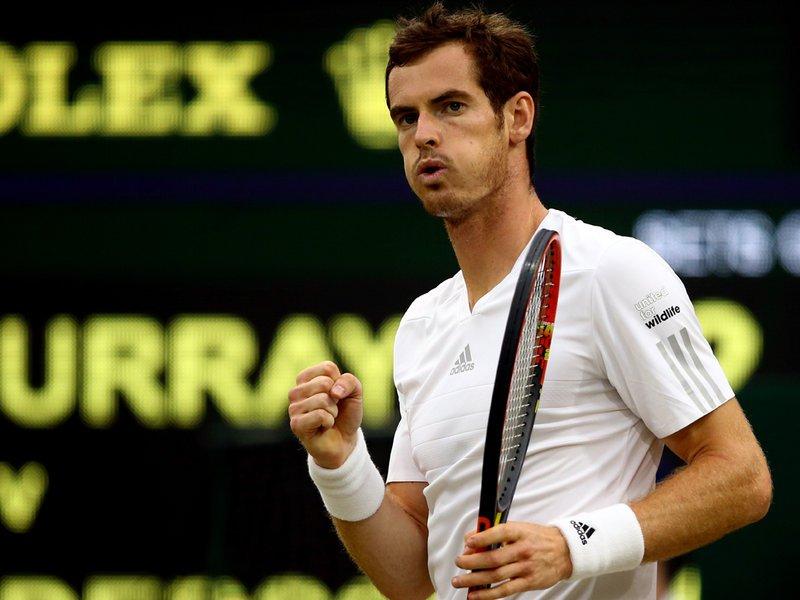 065 - 8 X 6 Photo - Tennis - Wimbledon Championship 2014 - Day 7 - Andy Murray