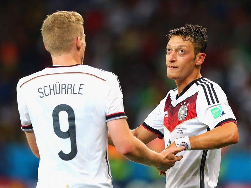 494 -  8 X 6 - Photo - Football - FIFA World Cup - Germany V Algeria - Mesut Oezil