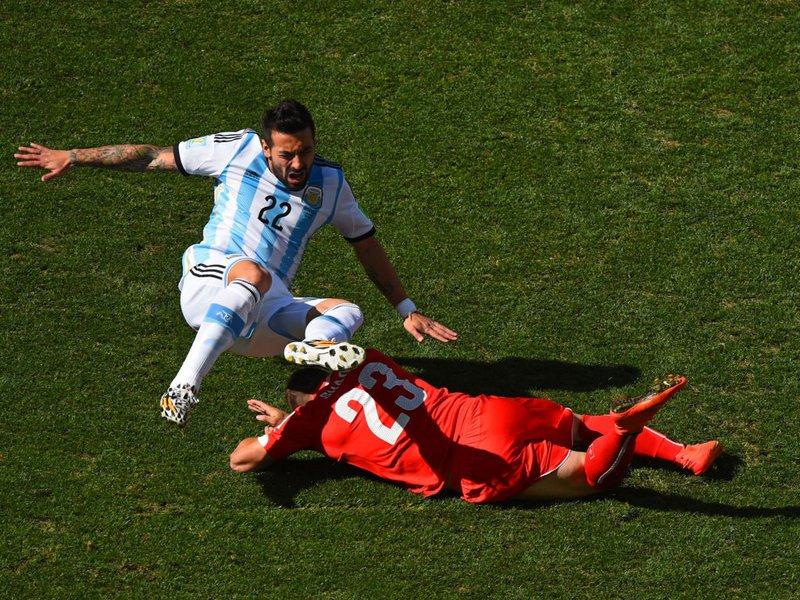 501 -  8 x 6 - Photo - Football - FIFA World Cup - Argentina v Switzerland   Xherdan Shaqiri