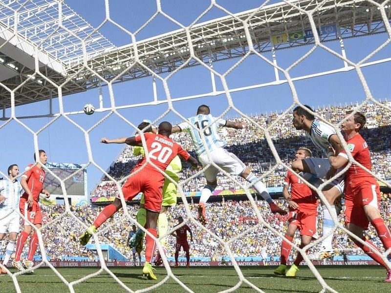 507 -  8 x 6 - Photo - Football - FIFA World Cup - Argentina v Switzerland Diego Benaglio