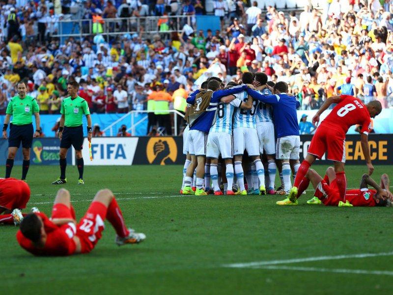 516 -  8 x 6 - Photo - Football - FIFA World Cup - Argentina v Switzerland