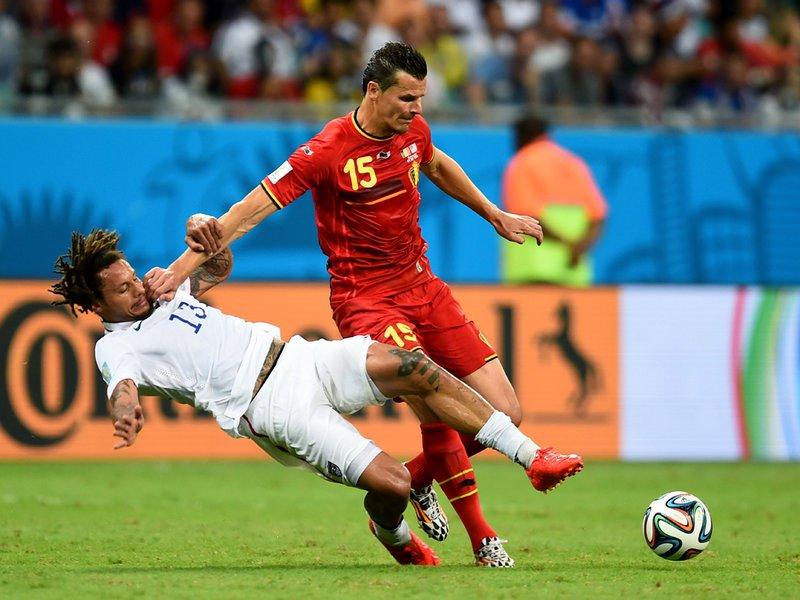 526 -  8 X 6 - Photo - Football - FIFA World Cup 2014 - Belgium V United States - Jermaine Jones