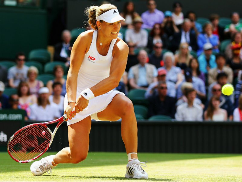078 -  8 X 6 - Photo - Tennis - Wimbledon Championship 2014 - Day 8 - Angelique Kerber