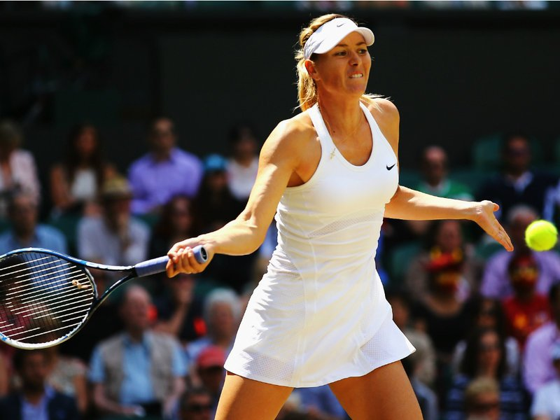 081 -  8 X 6 - Photo - Tennis - Wimbledon Championship 2014 - Day 8 - Maria Sharapova