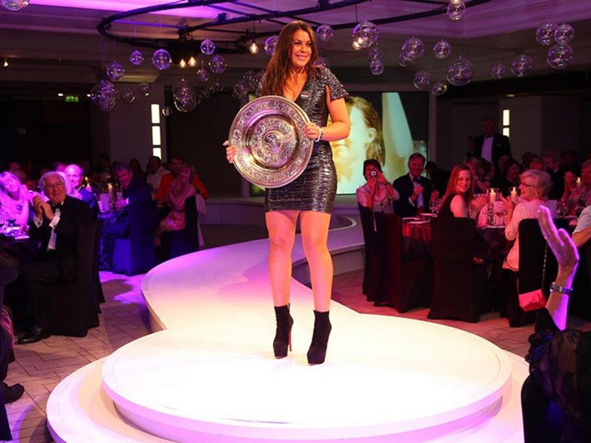 8 x 6 Photo - Tennis - Wimbledon Championships 2013 - Champions Ball - Marion Bartoli & Andy Murray