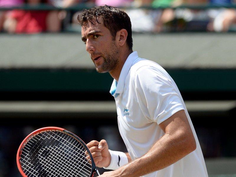 096 - 8 X 6 Photo - Tennis - Wimbledon Championship 2014 - Day 9 - Marin Cilic