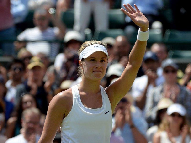 095 - 8 X 6 Photo - Tennis - Wimbledon Championship 2014 - Day 9 - Eugenie Bouchard
