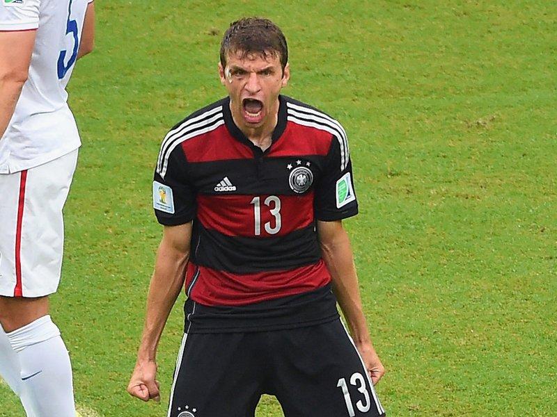 409 - 8 x 6 Photo - Football - Fifa World Cup 2014 - Germany V United States