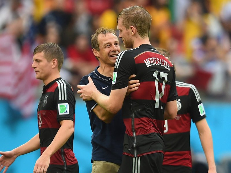 411 - 8 x 6 Photo - Football - Fifa World Cup 2014 - Germany V United States