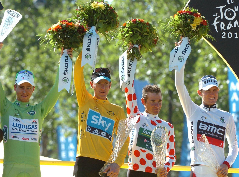 007 - 8 x 6 Photo - Tour de France 2012 - Bradley Wiggins