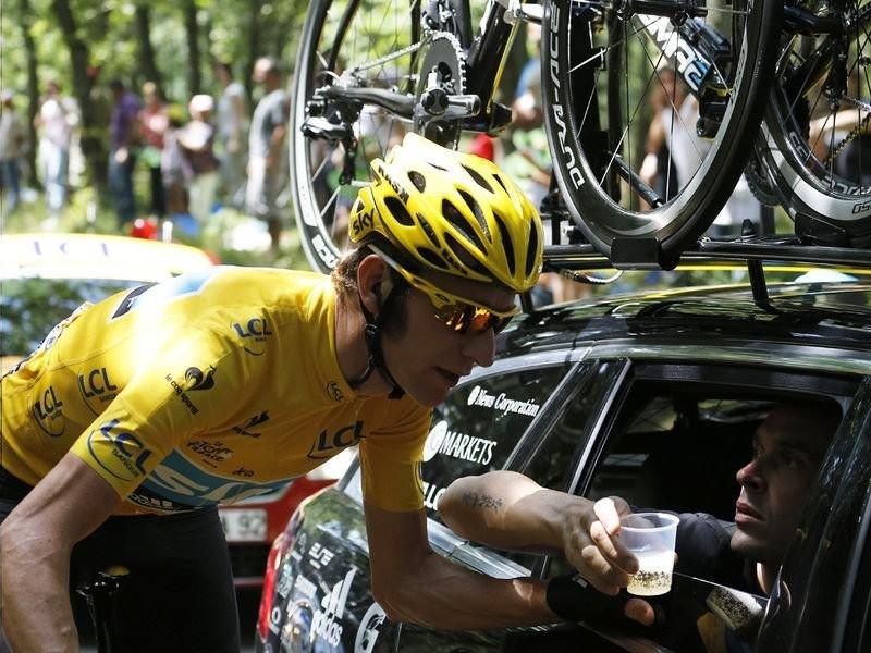 012 - 8 x 6 Photo - Tour de France 2012 - Bradley Wiggins