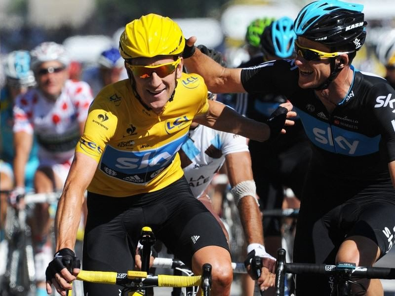 013 - 8 x 6 Photo - Tour de France 2012 - Bradley Wiggins