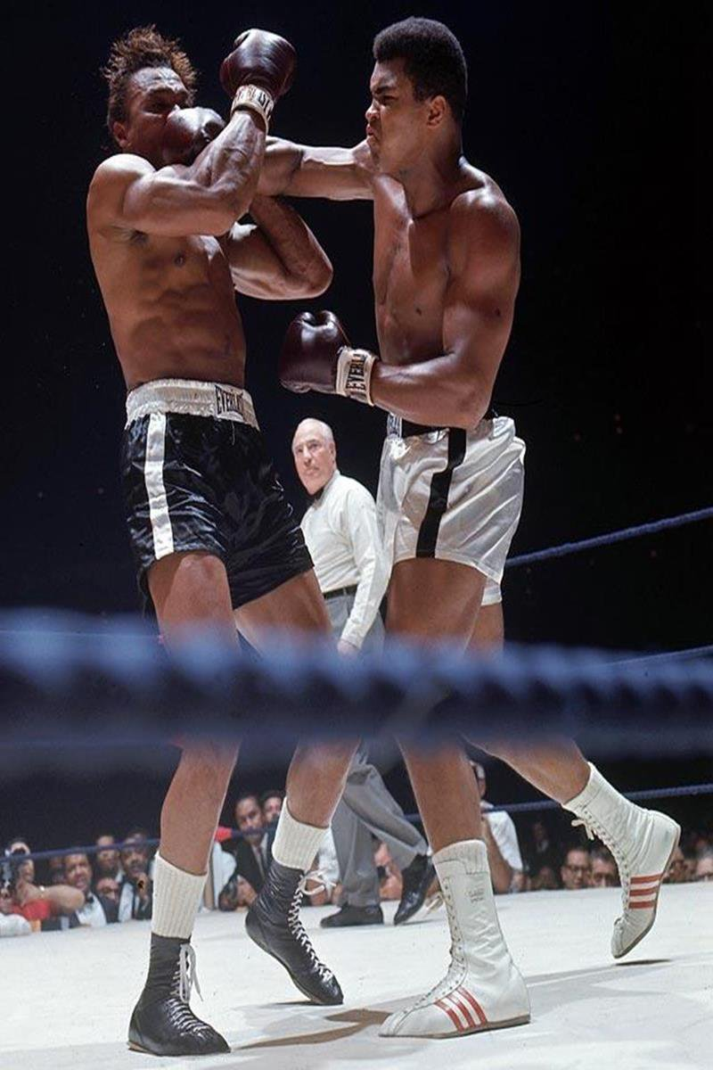 015 - 12 X 8 Photo - Boxing - Classic Muhammad Ali -   Muhammad Ali Cleveland Williams