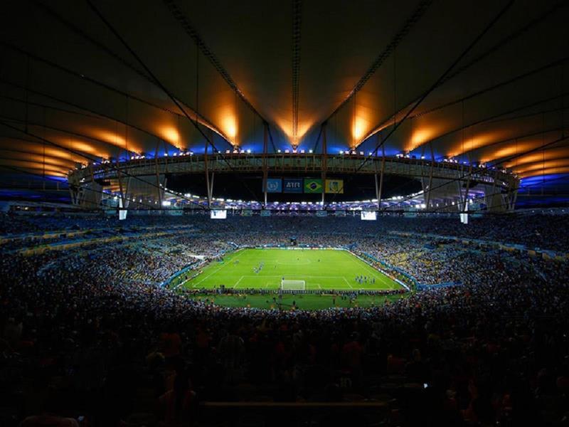108 - 8 X 6 Photo - Football - FIFA World Cup 2014 - Argentina V Bosnia - Maracana Stadium