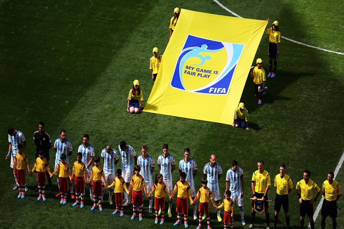 010 - 12 x 8 - 2014 World Cup Finalists - Argentina