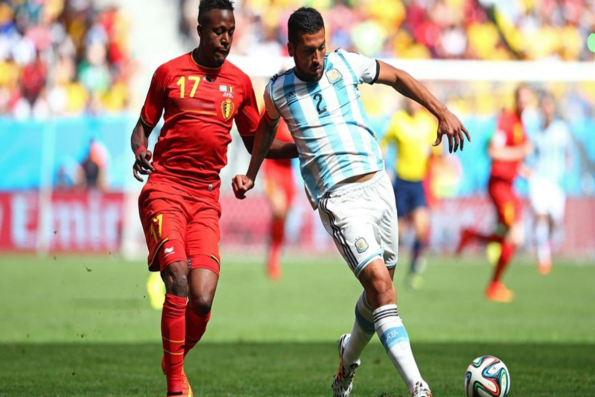 016 - 12 x 8 - 2014 World Cup Finalists - Argentina