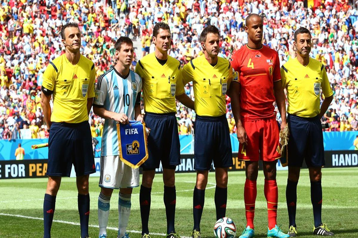 018 - 12 x 8 - 2014 World Cup Finalists - Argentina