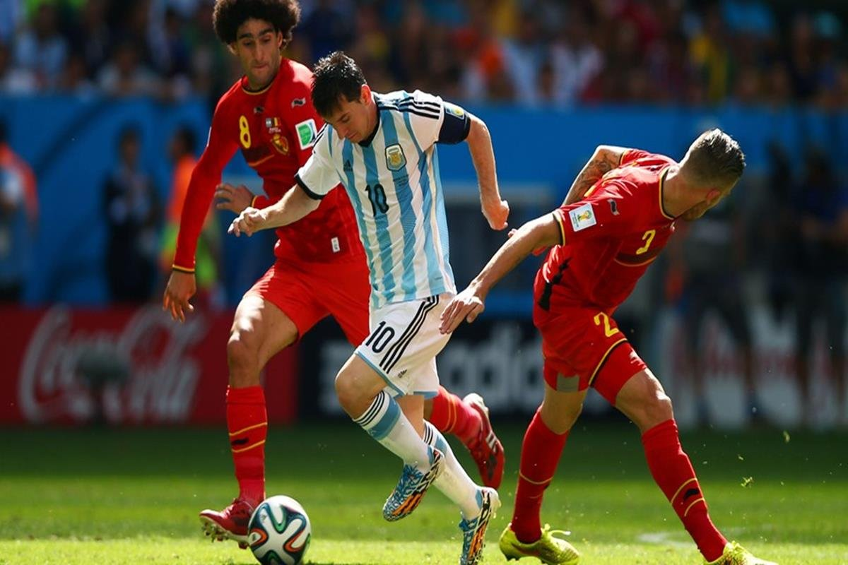 051 - 12 x 8 - 2014 World Cup Finalists - Argentina