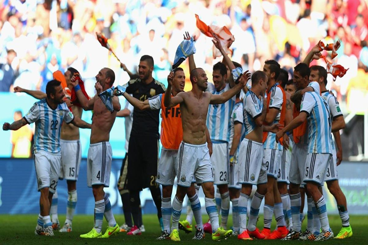 084 - 12 x 8 - 2014 World Cup Finalists - Argentina