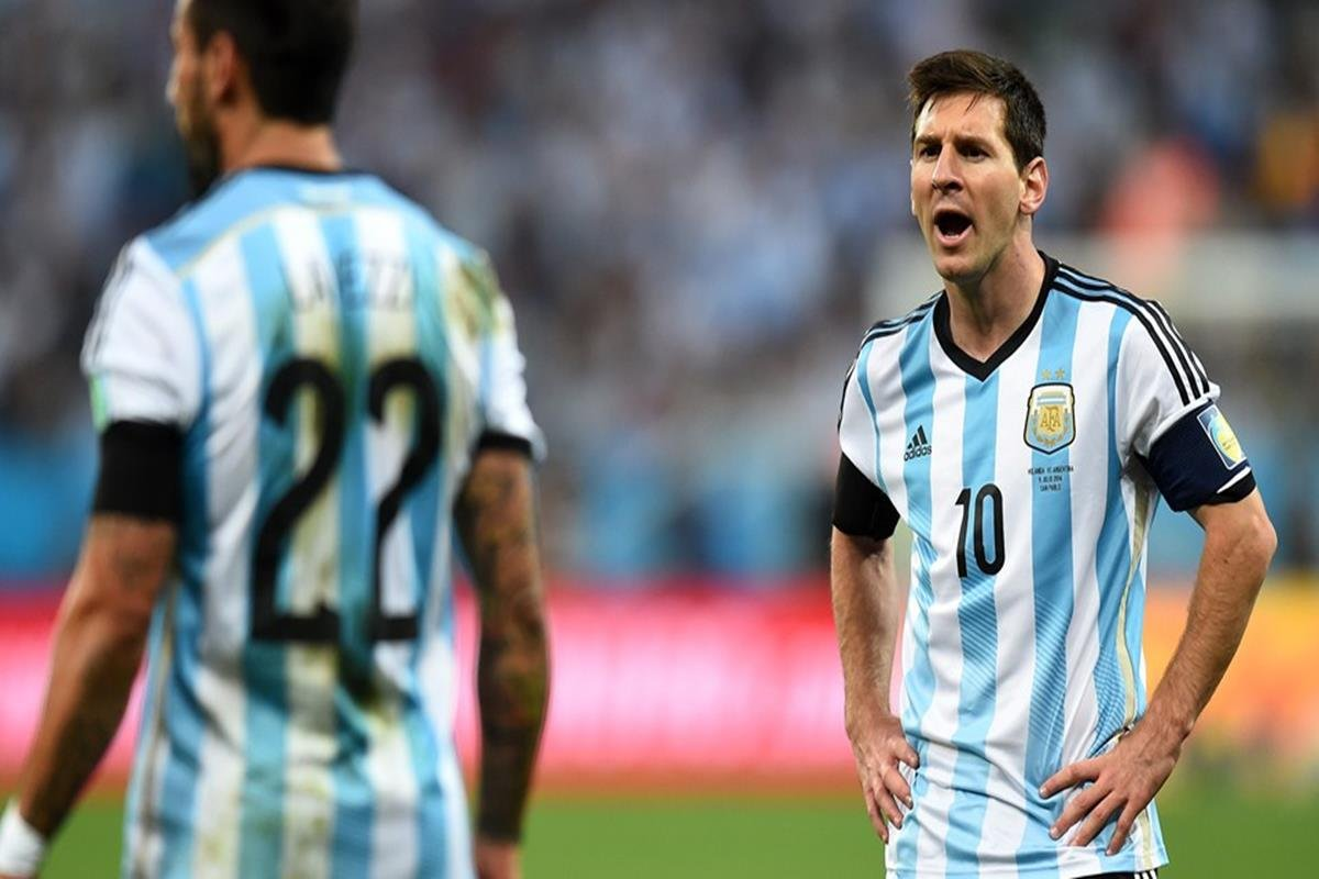 096 - 12 x 8 - 2014 World Cup Finalists - Argentina