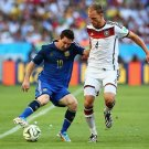 652 - 8 X 6 Photo - 2014 World Cup - The Final - Germany v Argentina - Lionel Messi