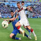 651 - 8 X 6 Photo - 2014 World Cup - The Final - Germany v Argentina - Demichelis Schweinsteiger