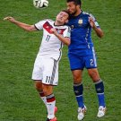647 - 8 X 6 Photo - 2014 World Cup - The Final - Germany v Argentina - Miroslav klose