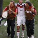655 - 8 X 6 Photo - 2014 World Cup - The Final - Germany v Argentina - Kramer Injured